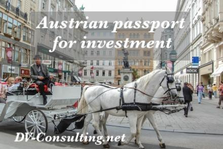 Austrian passport for investment